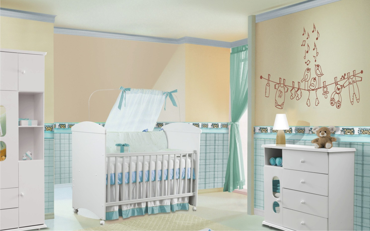 Dicas de como montar o quarto do bebê!