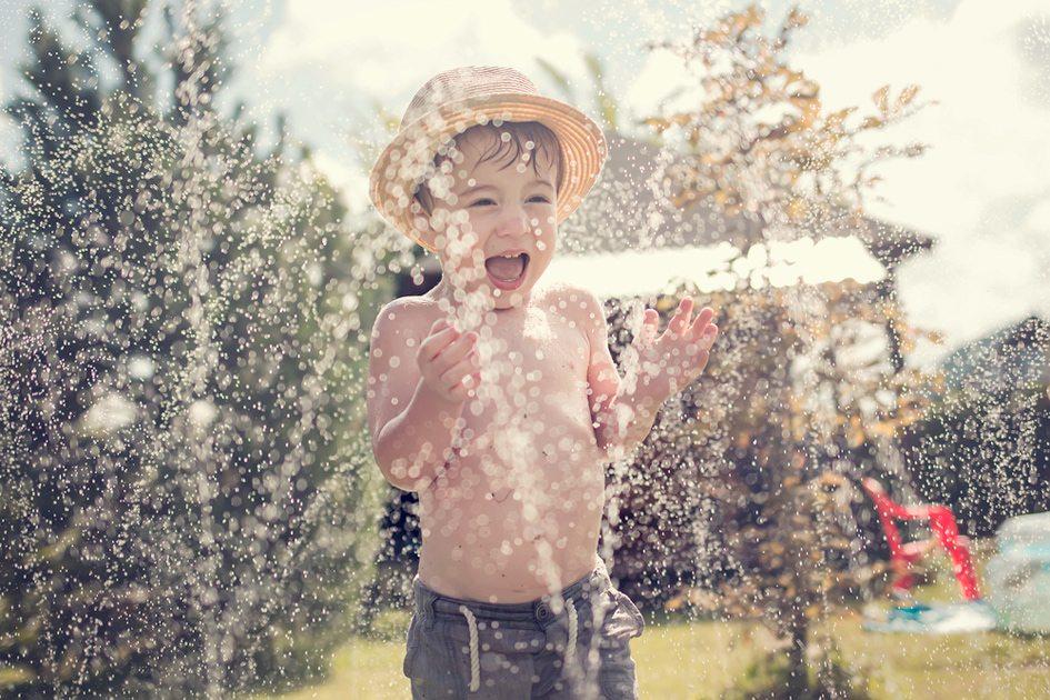 Brincadeiras pra fazer no calor!