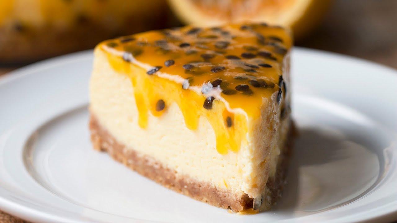 Receita de cheesecake de maracujá!