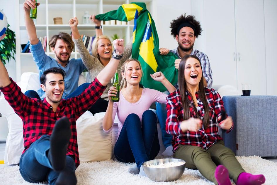 Como organizar uma festa para assistir à Copa do Mundo em casa!