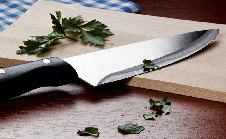 Afiar a faca sem amolador