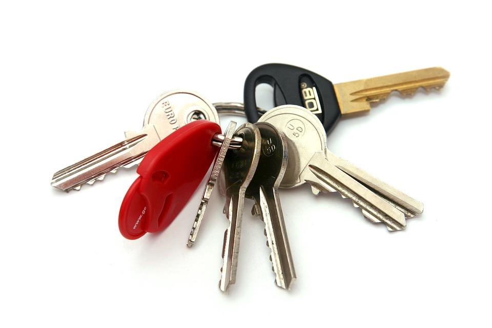 Tenha um porta-chaves