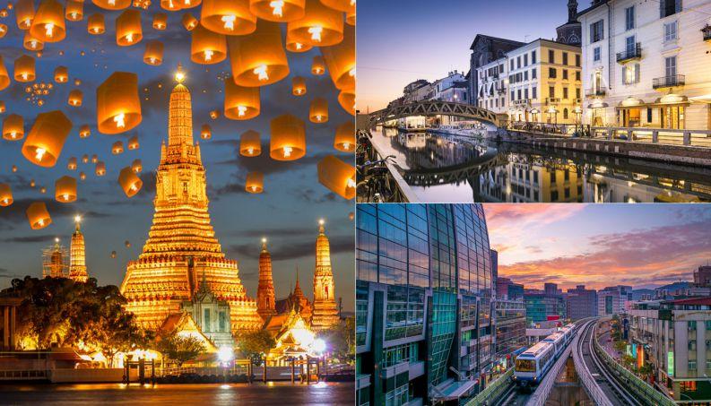 30 cidades mais visitadas do mundo em 2017